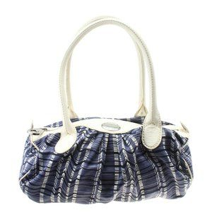 Marc Jacobs Nylon Blue Nylon Satchel 184471